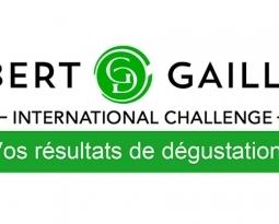 GILBERT & GAILLARD – RÉSULTATS DÉGUSTATION